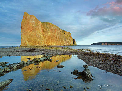 Photograph - Perce Rock by Tim Fitzharris