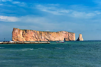 Photograph - Perce Rock by U Schade