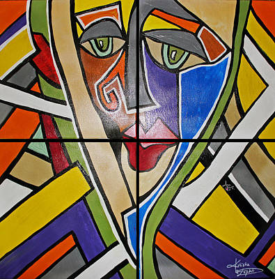 Painting - Perception Collection by Artista Elisabet