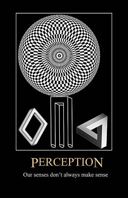 Digital Art - Perception by John Haldane