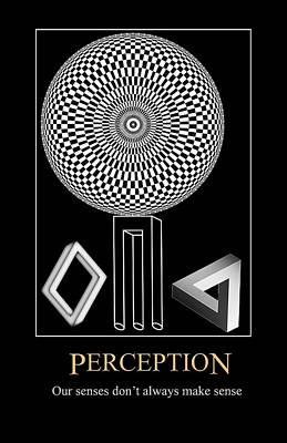 Digital Art - Perception by John Haldane