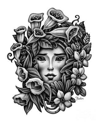Perception Of Beauty Art Print by David Fedan