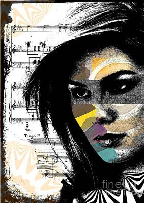 Attitude Digital Art - Perceptions by Ramneek Narang