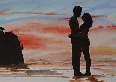 Painting - Perch Rock Rendezvous, by Steve Jones