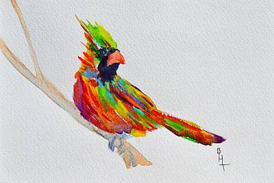 Painting - Perch With Pride by Beverley Harper Tinsley