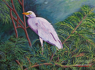 Painting - Perched On High by Laura Forde