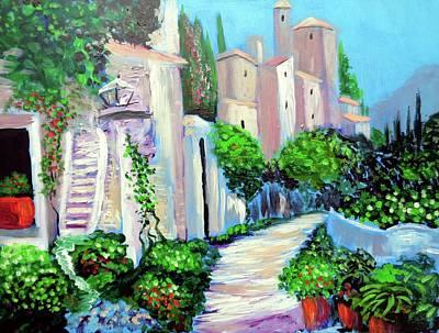 Painting - Percorso Di Colore by Larry Cirigliano