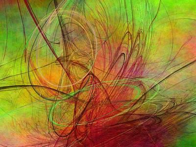 Digital Art - Percunatele In Spring by Jeff Iverson