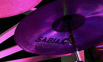 Art Print featuring the photograph Percussion by Lori Seaman