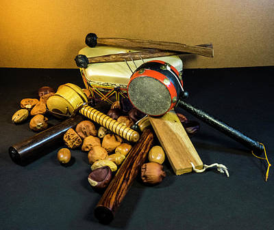 Photograph - Percussion Musical Instruments by Douglas Barnett