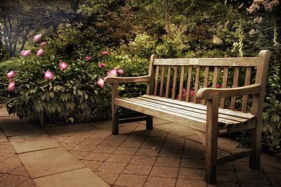 Perennial Garden Respite Art Print