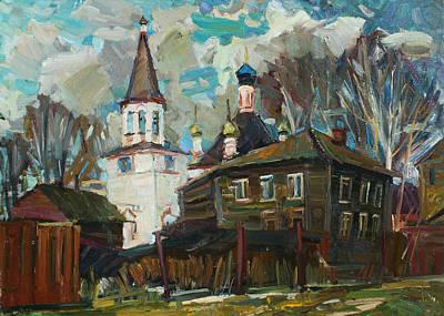 Painting - Pereslavl. Restless Day by Juliya Zhukova
