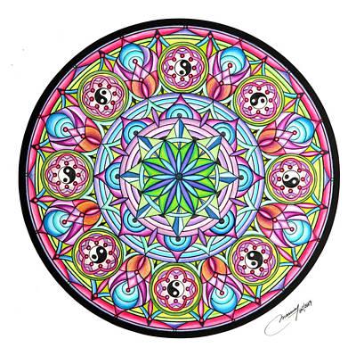 Perfect Balance Art Print by Marcia Lupo