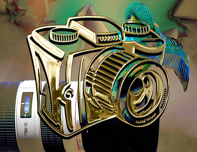 Mixed Media - Perfect Capture Camera Collection by Marvin Blaine