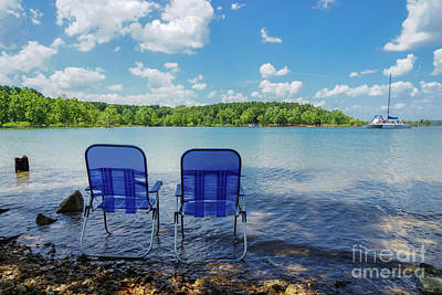 Photograph - Perfect Day At The Lake by Jennifer White