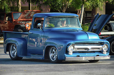 Photograph - Perfect Ford Truck by Bill Dutting