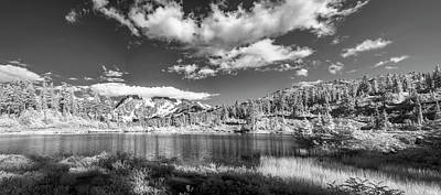 Photograph - Perfect Lake At Mount Baker by Jon Glaser