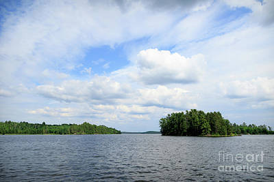 Photograph - Perfect Lake Day by Lori Dobbs