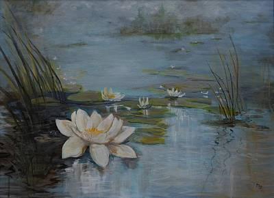 Perfect Lotus - Lmj Art Print