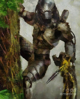 Archaeologists Painting - Perfect Monster by Drazen Kirchmayer