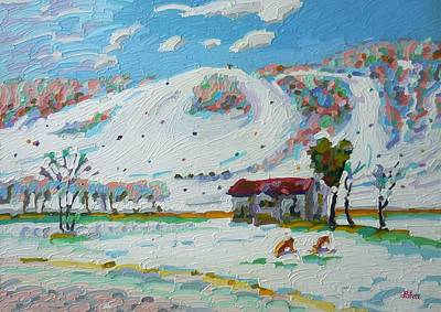 Perfect North Vi Art Print by Tom Lohre