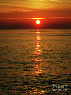 Photograph - Perfect Pacific Sunset by Randall Weidner