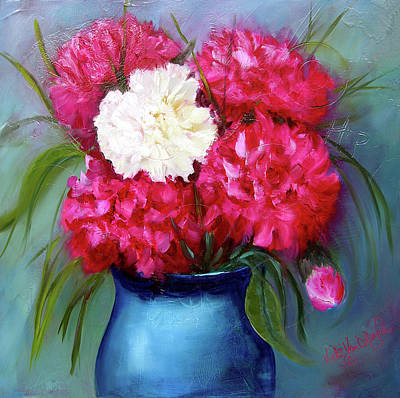 Painting - Perfect Peonies by Vicki VanDeBerghe