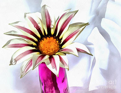 Flower Abstract Photograph - Perfect Pick by Krissy Katsimbras
