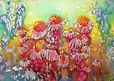 Impressionist Mixed Media - The Magic Of Spring by Shirley Sykes Bracken