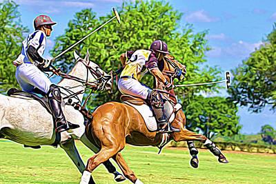 Photograph - Perfect Polo Advance by Alice Gipson