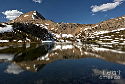 Photograph - Perfect Reflections In Helen Lake by Adam Jewell