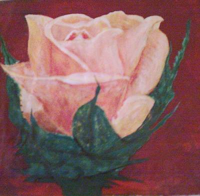 Painting - Perfect Rose by Helen Vanterpool