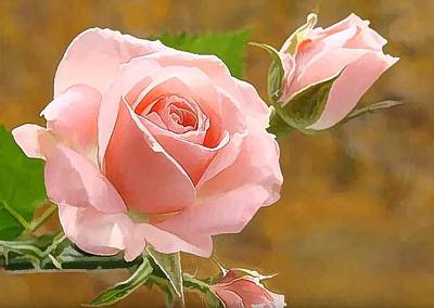 Perfect Rose  Art Print by Lanjee Chee