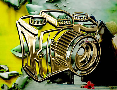 Mixed Media - Perfect Shot Camera Collection by Marvin Blaine
