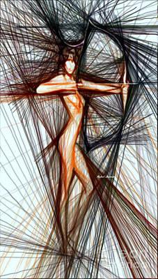 Digital Art - Perfect Stance by Rafael Salazar