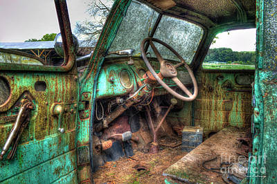 Photograph - Perfect Storm Interior Design Special 1947 Chevy Truck Art by Reid Callaway