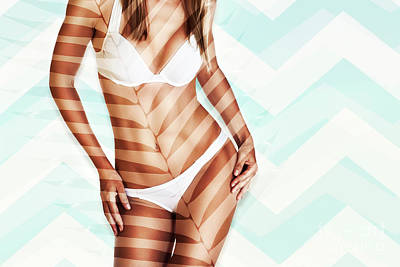 Photograph - Perfect Tan Body Concept by Anna Om