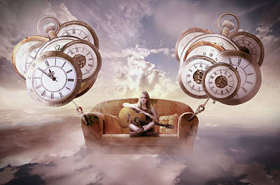Digital Art - Perfect Timing  by Nathan Wright