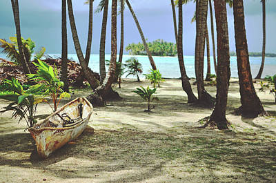 Perfect Tropical Paradise Islands With Turquoise Water And White Sand Art Print