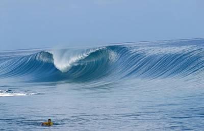 Perfect Wave Teahupoo Art Print by Danny Aab