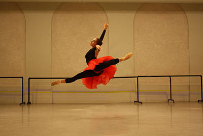 Dance Photograph - Perfection In Air  by Wendy Potocki