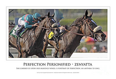 Zenyatta Photograph - Perfection Personified by Anthony Andrews