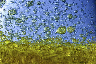 Olive Photograph - Abstract Olive Oil by Stelios Kleanthous