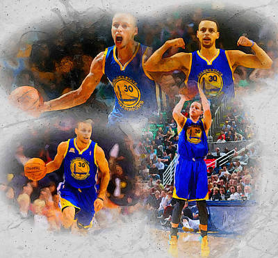 Nba Painting - Perfection Today N Tomorrow by John Farr