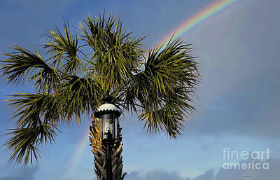 Photograph - Perfectly Placed Rainbow by Roberta Byram