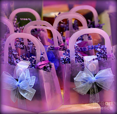 Photograph - Perfectly Purple Purses by Tanya Searcy