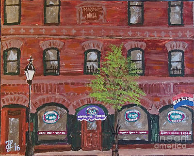 Painting - Perfecto's Cafe by Francois Lamothe