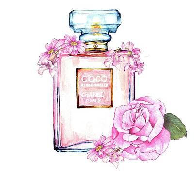 Perfume Florals Art Print by Heidi Kriel