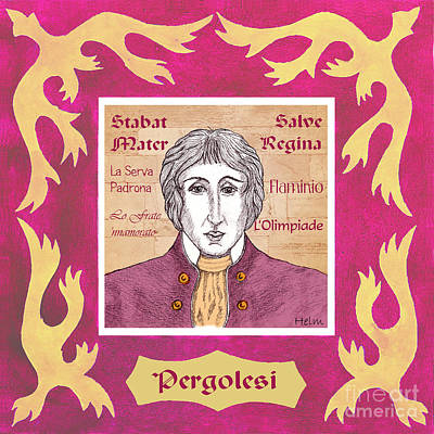Pergolesi Art Print by Paul Helm