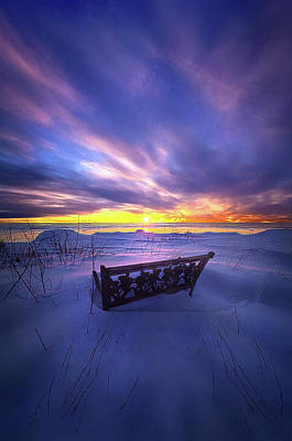 Photograph - Perhaps Not A Word by Phil Koch